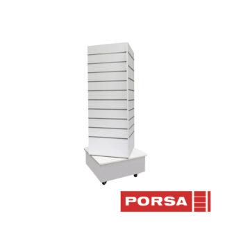 Porsa Panel display drejelig hvid
